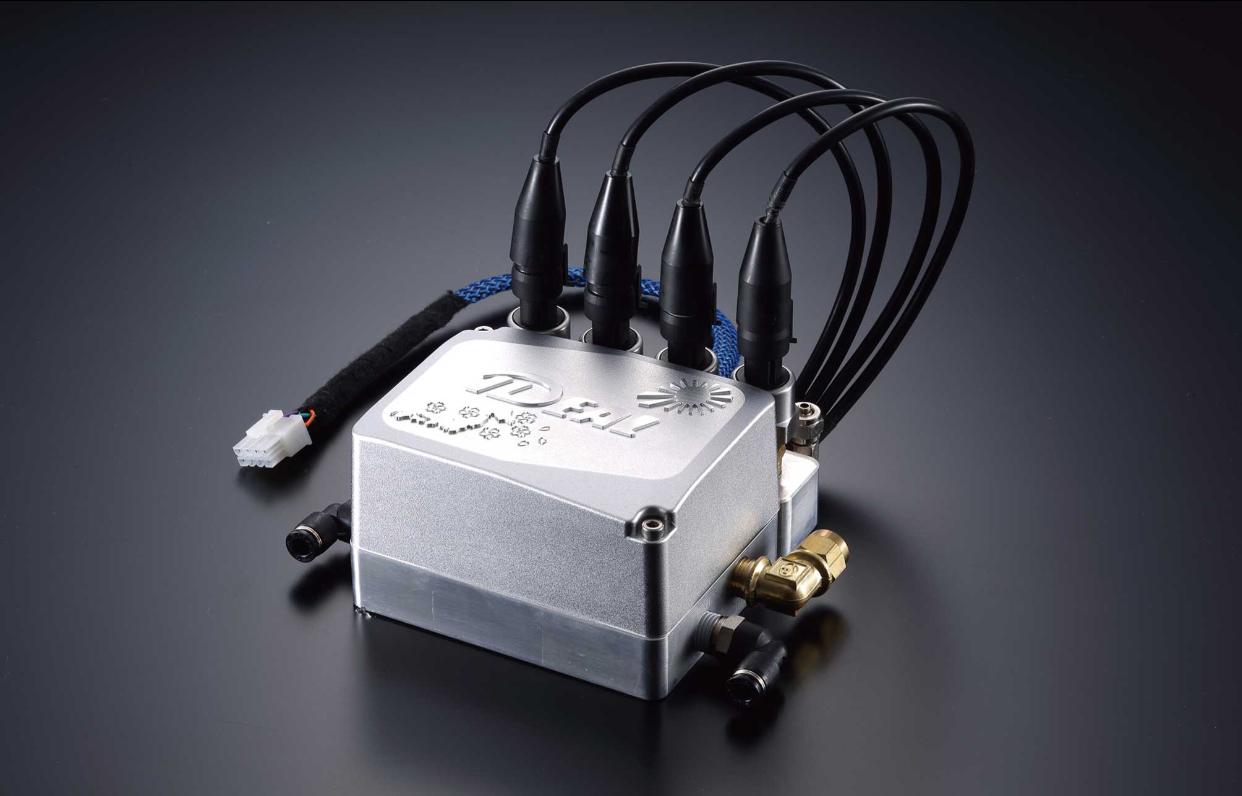 エアーレベリング1/4ソレノイド 4輪独立(電磁弁)BOX