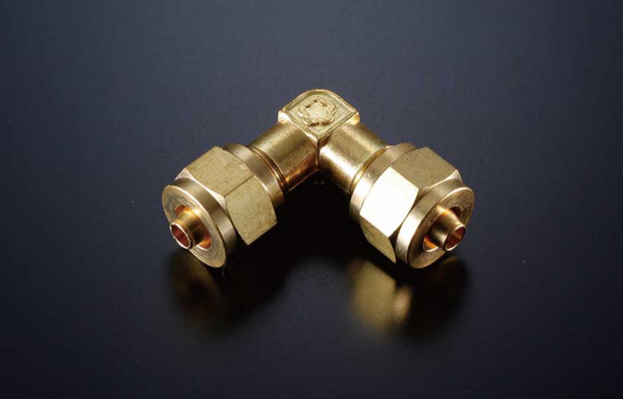 6mmホース×6mmホース エルボ