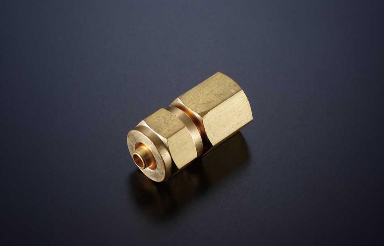 3/8オネジ×6mmホース エルボ