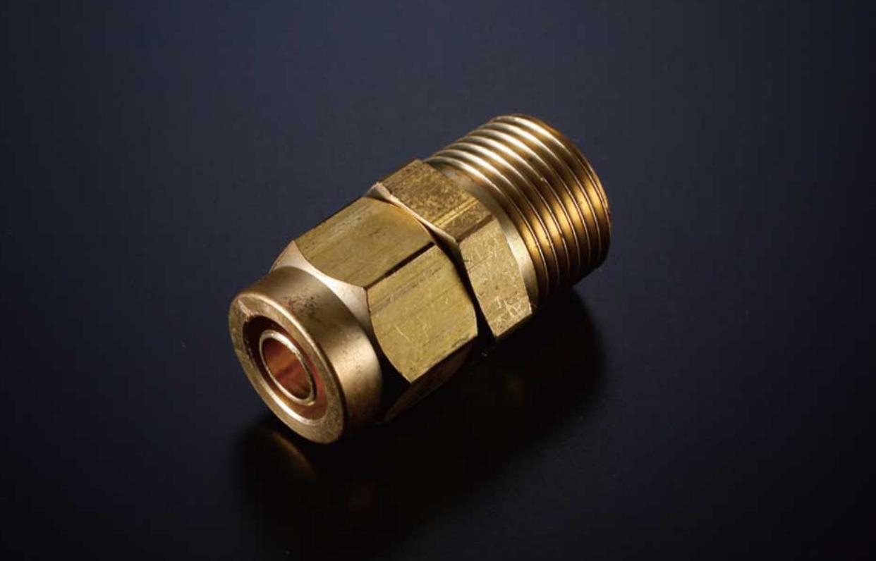 3/8オネジ×10mmホース ストレート