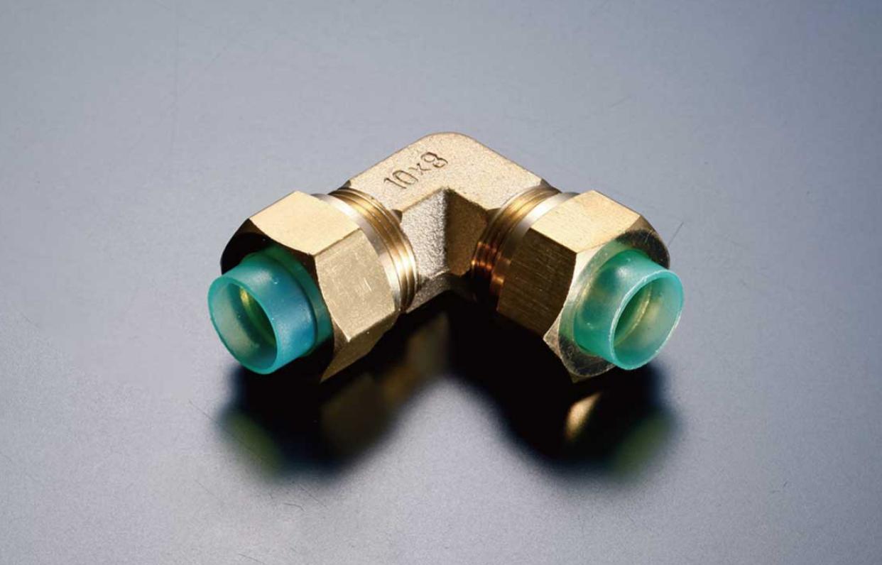 10mmホース×10mmホース エルボ